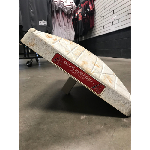 Photo of 2017 Playoff Clinching Game-Used 3rd Base