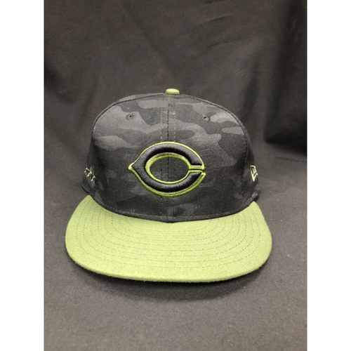 Photo of Joey Votto -- Game-Used -- Memorial Day Weekend Hat (Worn: May 26-28, 2018)