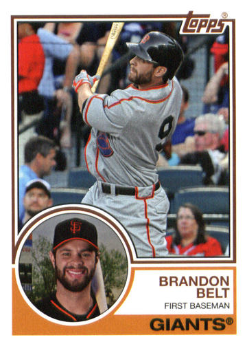 Photo of 2015 Topps Archives #239 Brandon Belt