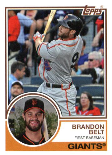 Photo of 2015 Topps Archives #239 Brandon Belt