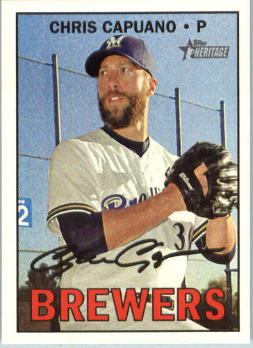 Photo of 2016 Topps Heritage #618 Chris Capuano
