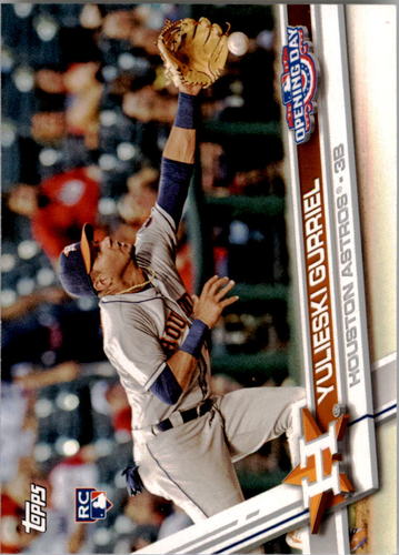 Photo of 2017 Topps Opening Day #42 Yulieski Gurriel Rookie Card