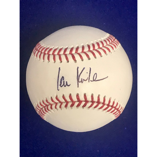 Photo of Ian Kinsler Autographed Baseball