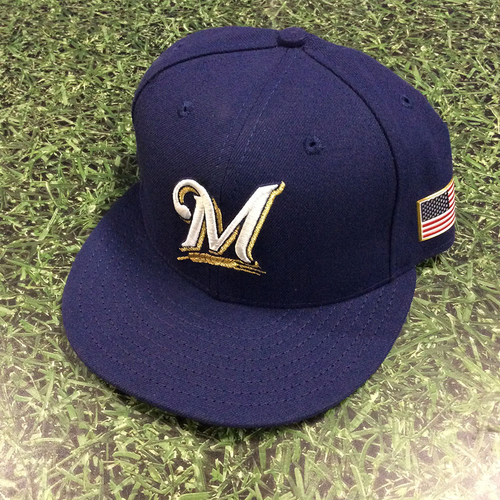 Photo of Craig Counsell 2017 Game-Used September 11th Cap