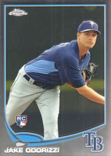 Photo of 2013 Topps Chrome #192 Jake Odorizzi Rookie Card