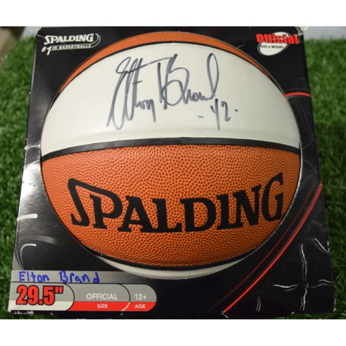 Photo of Rays Baseball Foundation Auction: Elton Brand Autographed Basketball