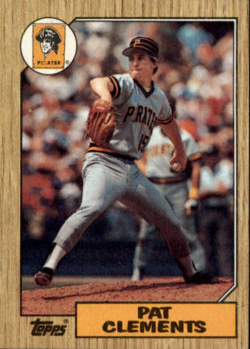 Photo of 1987 Topps #16 Pat Clements