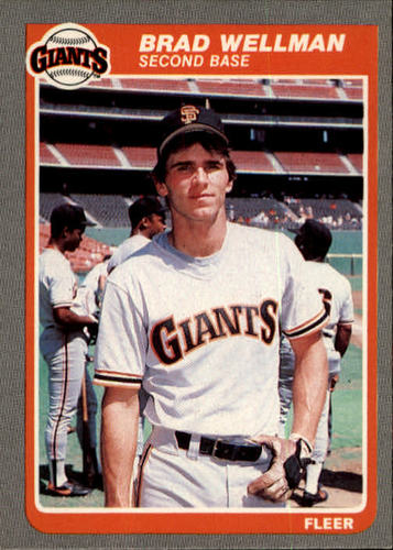 Photo of 1985 Fleer #623 Brad Wellman
