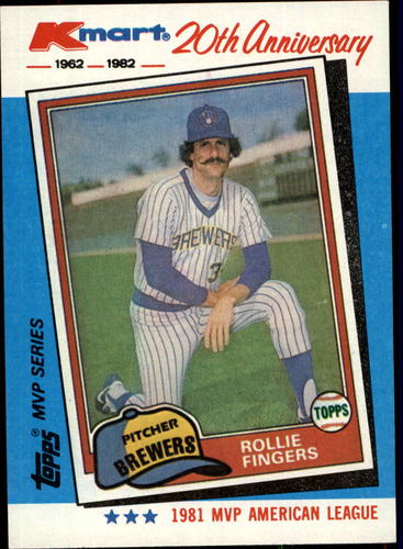 Photo of 1982 K-Mart #40 Rollie Fingers: 81AL