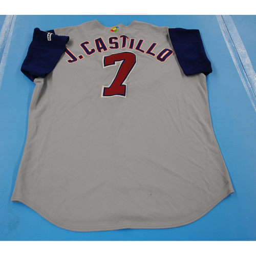 Photo of 2006 Inaugural World Baseball Classic: Javier Castillo Game-worn Team Panama Road Jersey