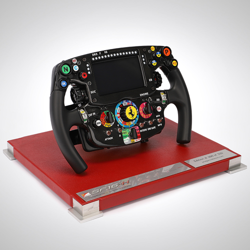 Photo of Scuderia Ferrari 2016 1:1 Scale Replica Steering Wheel