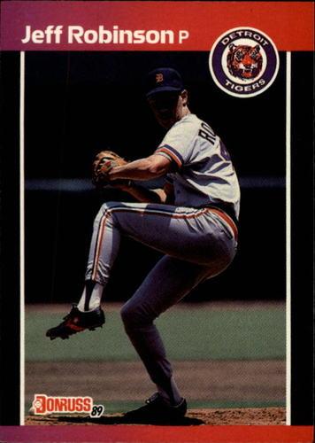 Photo of 1989 Donruss #470 Jeff M. Robinson