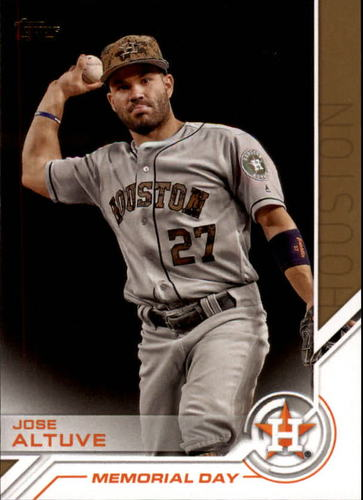 Photo of 2017 Topps Salute #S28 Jose Altuve