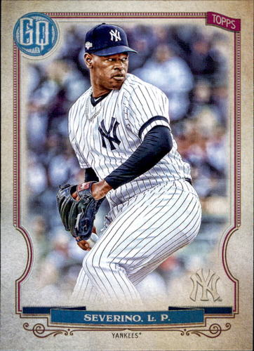 Photo of 2020 Topps Gypsy Queen #142 Luis Severino