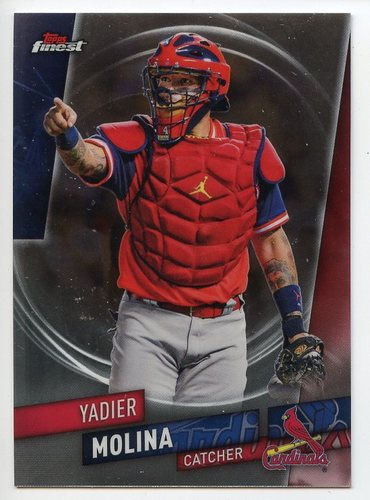 Photo of 2019 Finest #47 Yadier Molina