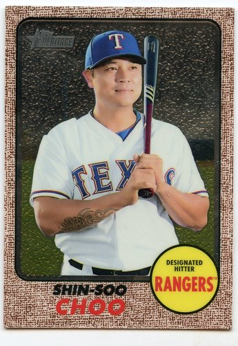 Photo of 2017 Topps Heritage Chrome #THC717 Shin-Soo Choo