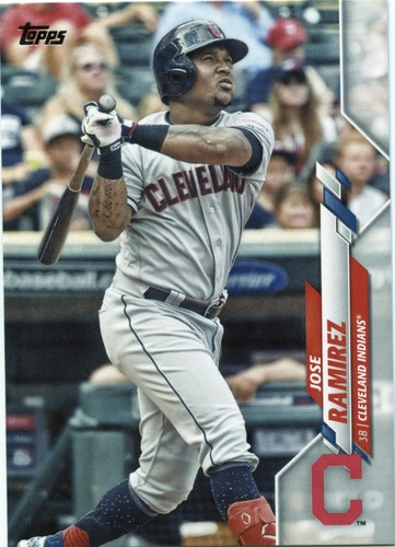 Photo of 2020 Topps #374 Jose Ramirez