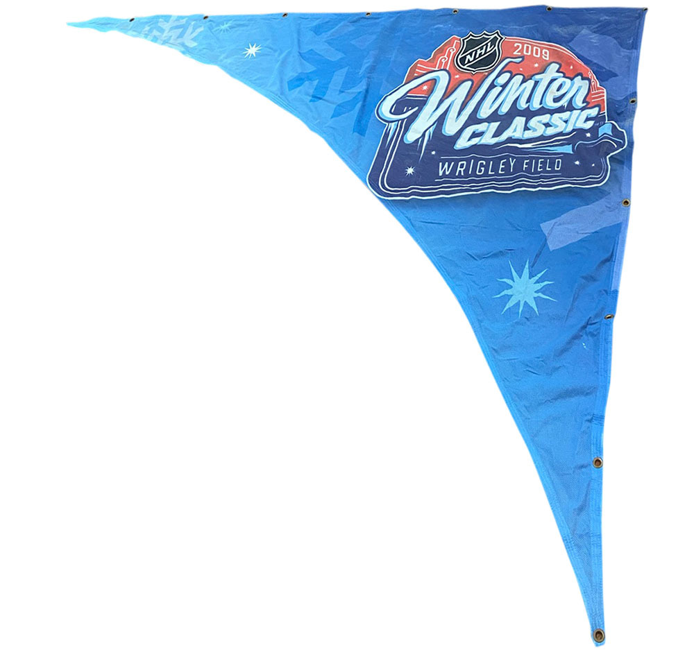 2009 NHL Winter Classic Event-Used Banner