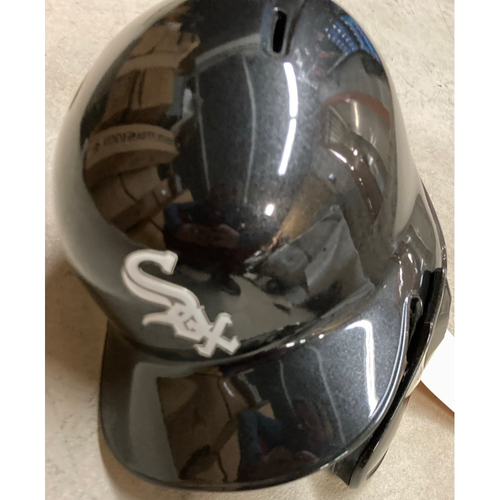 Photo of Black Clubhouse Helmet - #18 - Size 7 3/8 - NOT MLB Authenticated
