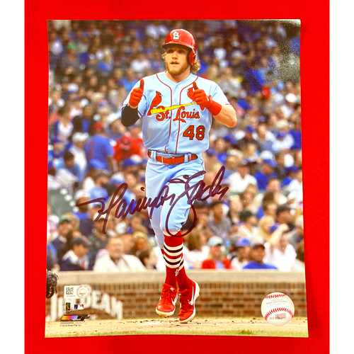 Photo of Harrison Bader Autographed Photo