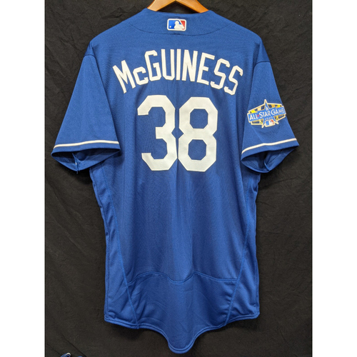 Photo of Connor McGuiness Team-Issued 2020 Spring Training Jersey with 2020 All Star Patch