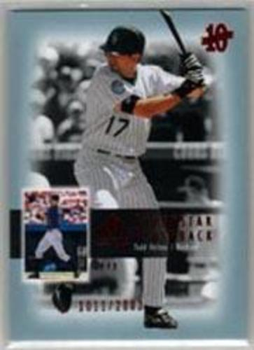 Photo of 2003 SP Authentic Superstar Flashback #SF24 Todd Helton