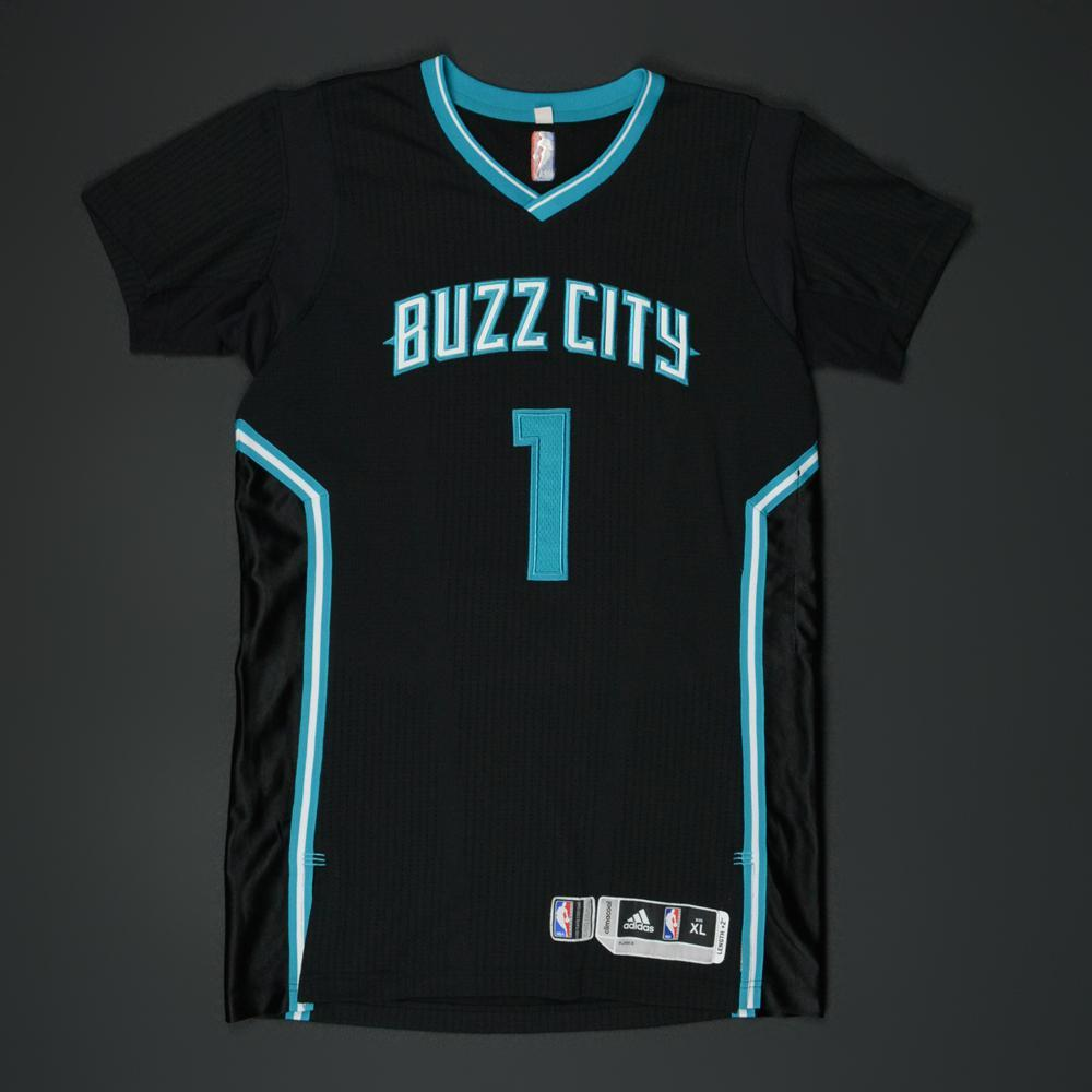 Courtney Lee - Charlotte Hornets - Game-Worn  Buzz City  Pride Jersey - 97f12222a