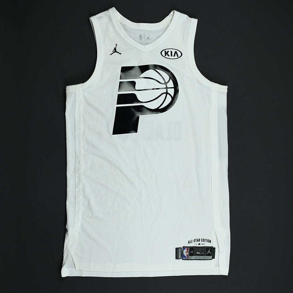 Victor Oladipo - 2018 NBA All-Star Game - Team LeBron - Game-Worn Jersey - 1st Half Only