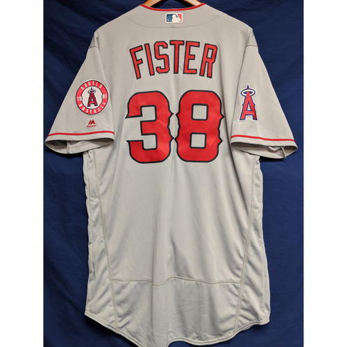 Photo of Doug Fister Team-Issued Road Jersey