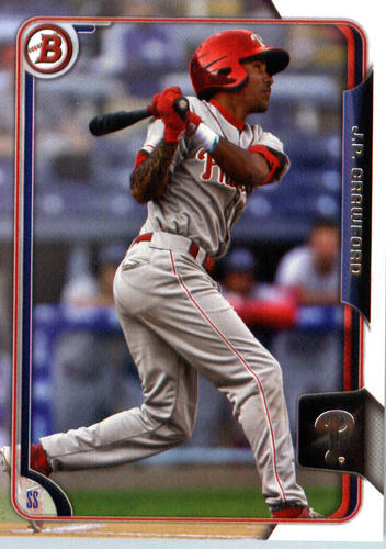 Photo of 2015 Bowman Draft #25 J.P. Crawford