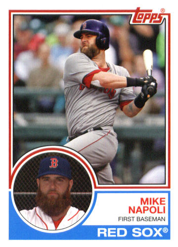 Photo of 2015 Topps Archives #241 Mike Napoli