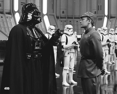 Darth Vader and Moff Jerrjerrod