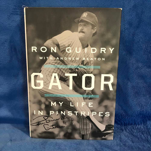 "Photo of UMPS CARE AUCTION: ""Gator: My Life in Pinstripes"" Signed by Author Ron Guidry"
