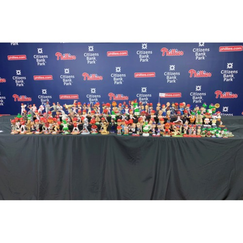 80368fa2d The Ultimate Phillies Giveaway Bobblehead   Figurine Collection (121 in  Total)