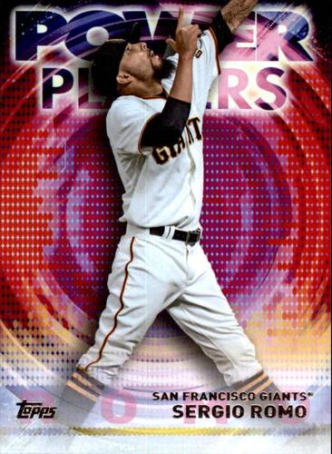 Photo of 2014 Topps Update Power Players #PPASR Sergio Romo