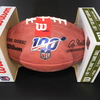 Browns Jim Brown Signed Authentic Football with NFL 100 Logo