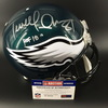 PCC - Terrell Owens Signed Eagles Proline Helmet w/ HOF 18 Inscription