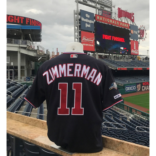Photo of 2019 NLDS/NLCS Game-Used Jersey: Ryan Zimmerman