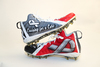 My Cause My Cleats -  Patriots John Simon signed custom cleats - supporting  Buckeye Cruise for Cancer