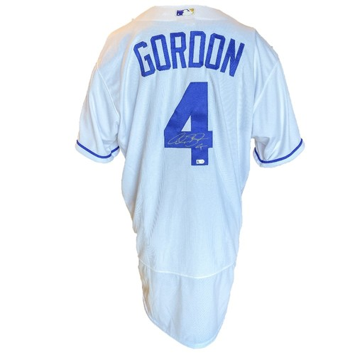 Photo of Autographed Nike Jersey: Alex Gordon