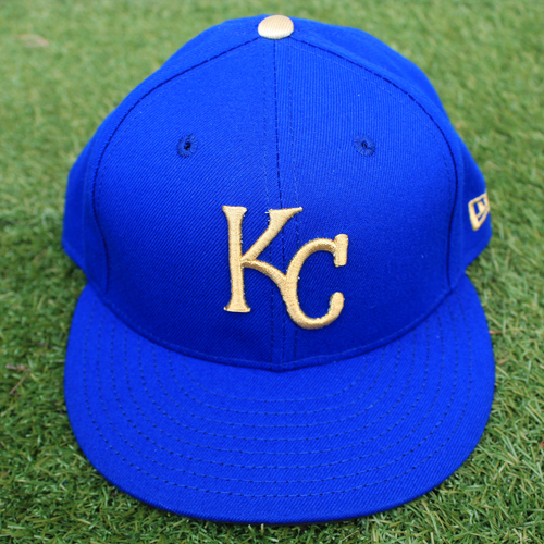 Photo of Game-Used Cap: Mitch Maier (Size 7 1/8 - MIN @ KC - 9/27/19)