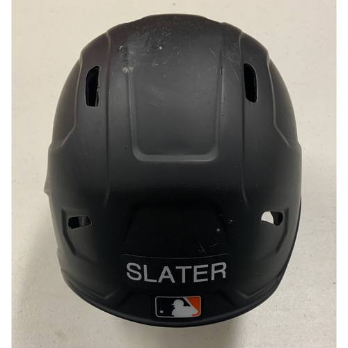 Photo of 2020 Game Used Batting Helmet - #13 Austin Slater - used 8/14 vs OAK and 8/19 vs LAA (Home Run) - size 7 3/8