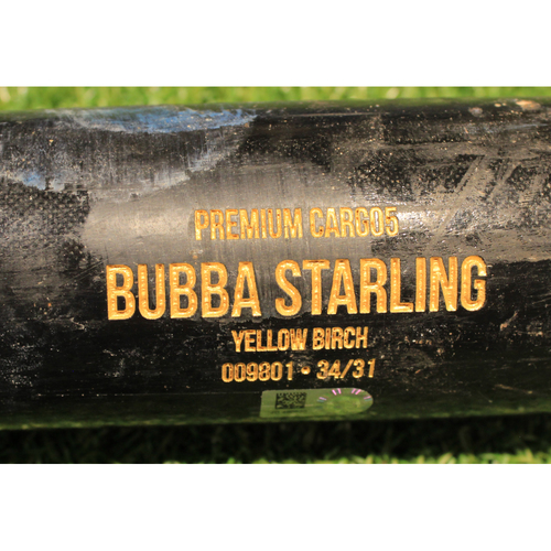 Photo of Team-Issued Bat: Bubba Starling #11