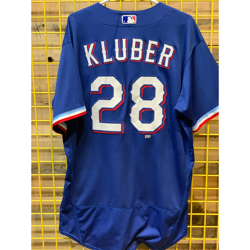 Photo of Corey Kluber Team-Issued Spring Training Jersey