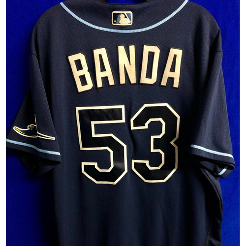 Photo of Team Issued Navy Jersey: Anthony Banda