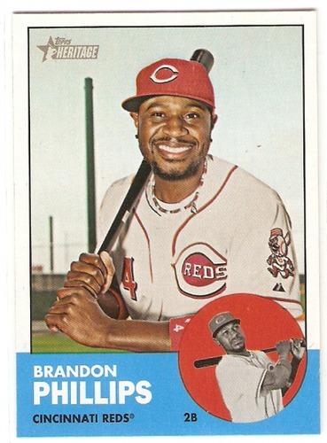 Photo of 2012 Topps Heritage #304 Brandon Phillips