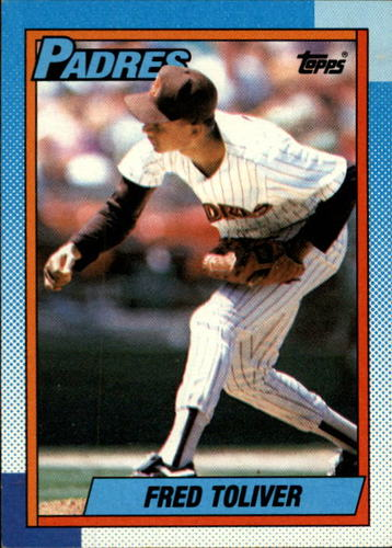 Photo of 1990 Topps #423 Fred Toliver