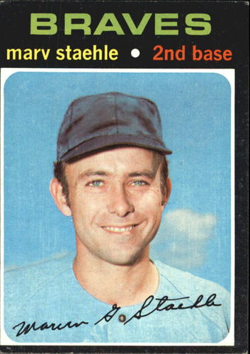 Photo of 1971 Topps #663 Marv Staehle