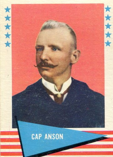 Photo of 1961 Fleer #4 Cap Anson Hall of Fame Class of 1939