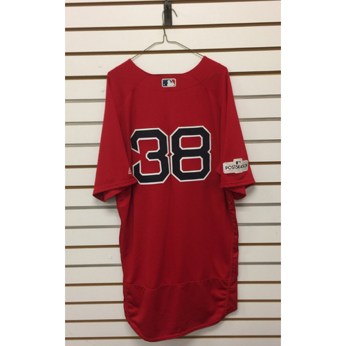 Photo of Doug Fister Game-Used September 29, 2017 Home Alternate Jersey